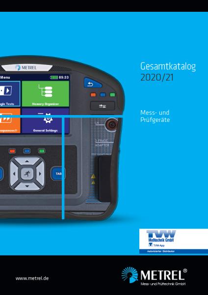 METREL-Katalog-2020-2021_DE_TVW