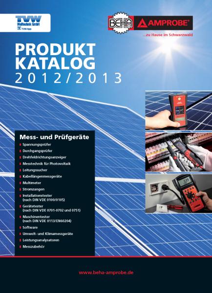 BEHA-AMPROBE-Katalog-2012-2013_DE_TVW